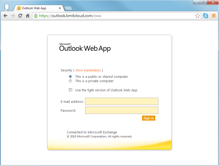 Business Companies In Malta Mail: How Do I Access BMIT's Outlook Web Access (OWA)?